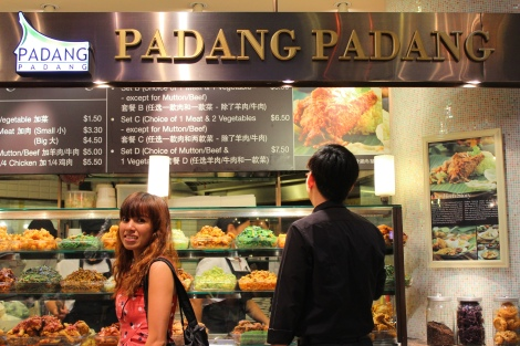 Padang Padang at the Ion Food Opera